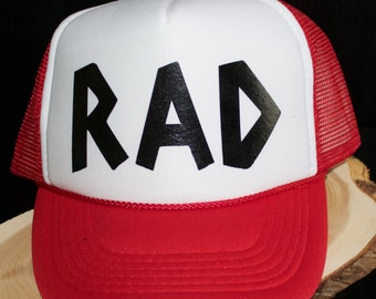 The Perfect Kids Trucker Hat for all those RAD Kids in your life.