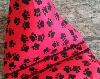 Gadget Bags-Cell Phone Stand-Cell Phone Pillows-Pooch Collection (Red n' Dawg Paws)