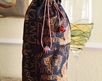 Wine Bag-Gourmet-Vintage Collection (Midnight)