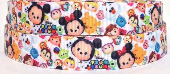 "tsum tsum Ribbon 7//8/"" Wide NEW UK SELLER FREE P/&P"