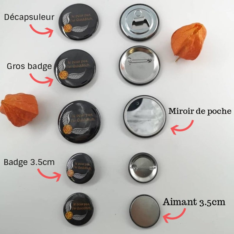 Rogue and Lily BadgeMagnetPocket Mirror or Uncapsule