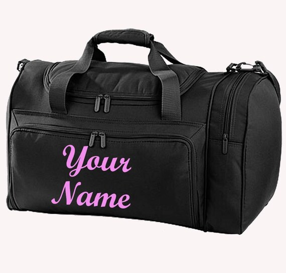 Personalised Holdall   Duffle bag Ballet Bag Equestrian  84464242f9399