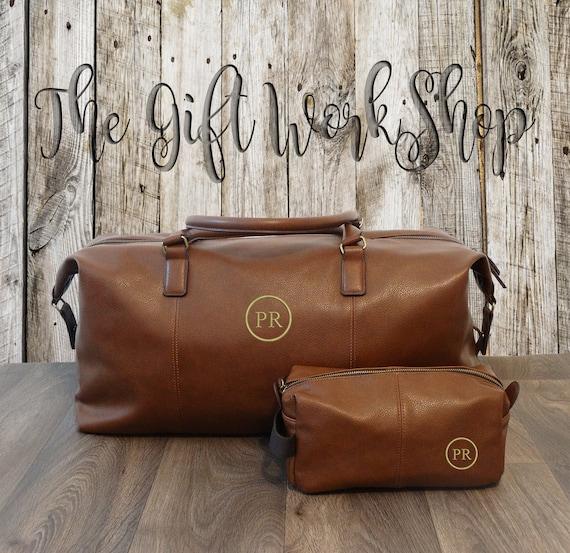 097c7260ab0e Mens Personalised Duffle Bag Set