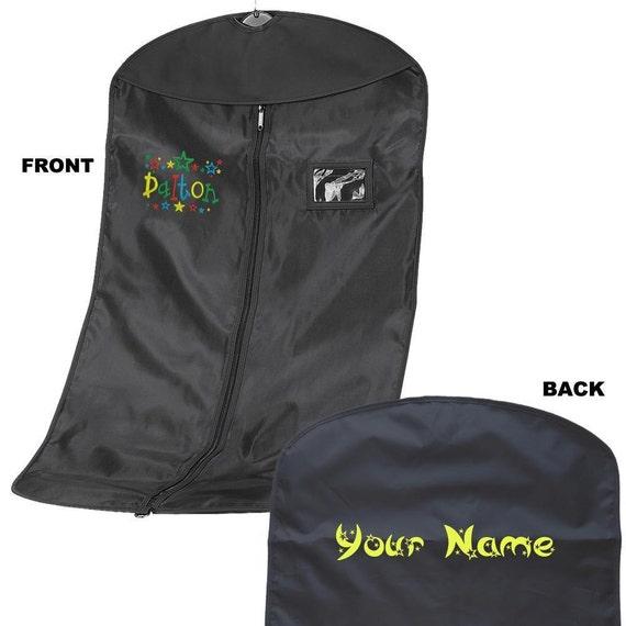 Personnalisé brodé costume transporteur avec Star police - Costume de sac - personnalisé sac de vêtement avec police étoile