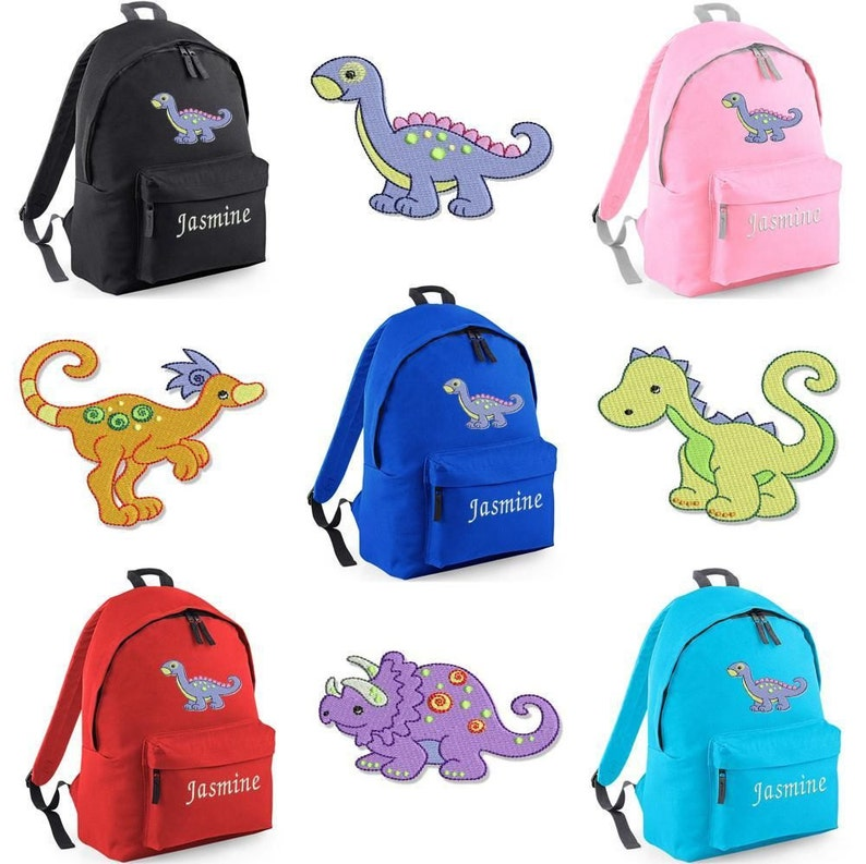 d0bda73a51b6 Personalised Kids Backpack Kids Rucksack School Bag