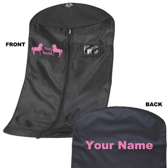 Personnalisé Voir la veste vêtement sac - sac de vêtement transporteur Show-équestre cheval design - Pony - vêtement personnalisé 8 chaussure cheval