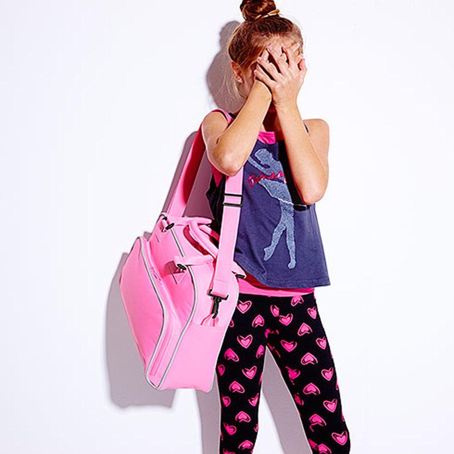 Personalised Embroidered Ballet Dance Shoulder Bag