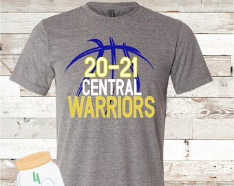 20/21 warriors basketball Tee youth and adult