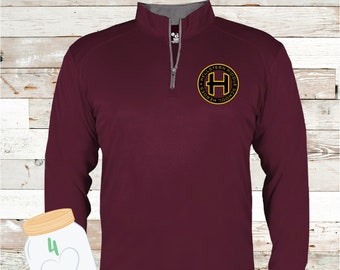 Hellstern Logo 1/4 zip pullover