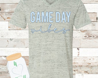 Adult Game Day Vibes Bella Canvas Tee
