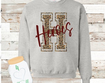 H leopard Heroes sweatshirt