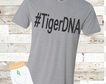 Adult and Youth #TigerDNA Bella Canvas Tee