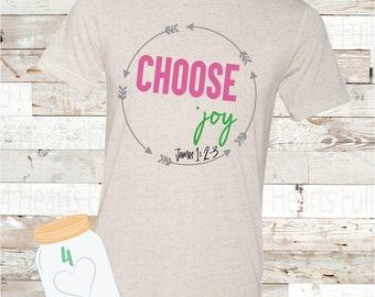 Choose Joy James 1  Tee Unisex Adult