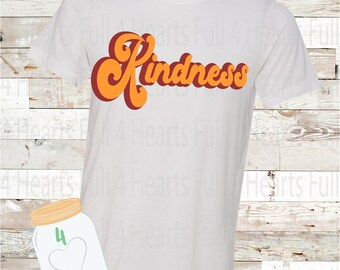 Kindness Retro Tee Unisex Adult