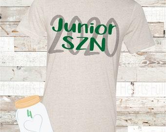 Junior SZN (Custom Color) Tee Unisex Adult