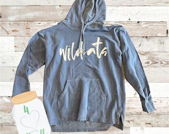 Medium Adult Wildcat blue Hoodie