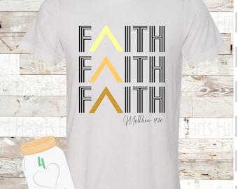Matthew 17 FAITH Tee Unisex Adult