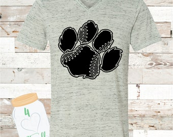 Adult Tigers Paw Bella Canvas Tee