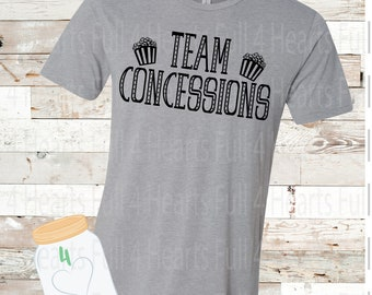 Team Concessions Tee Unisex Adult