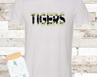 Youth Tigers White Tee