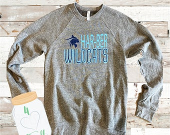 Medium Adult Wildcat Grey Sweatshirt