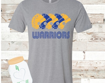 Warriors Tee Adult and Youth