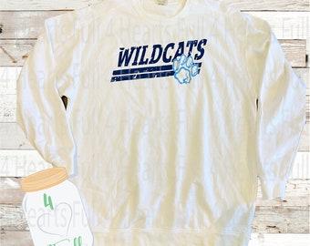 XXL Adult Comfort Colors Sweatshirt - White