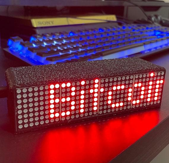 Crypto Coin Price Ticker Matrix Wifi Led Display Etsy