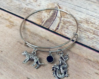 Lysandra|Throne of Glass Inspired Bangle Bracelet