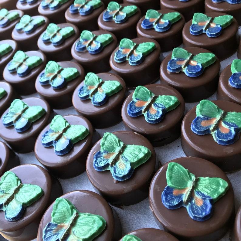 Beautiful Butterfly Oreos Milk Chocolate Oreos Garden Party Etsy