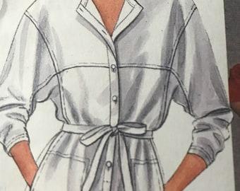 Fabulous Short or Long Jumpsuit Pattern by Carole Little---McCalls 9086---Sizes 10-12  Bust 32 1/2 Thru 34  UNCUT