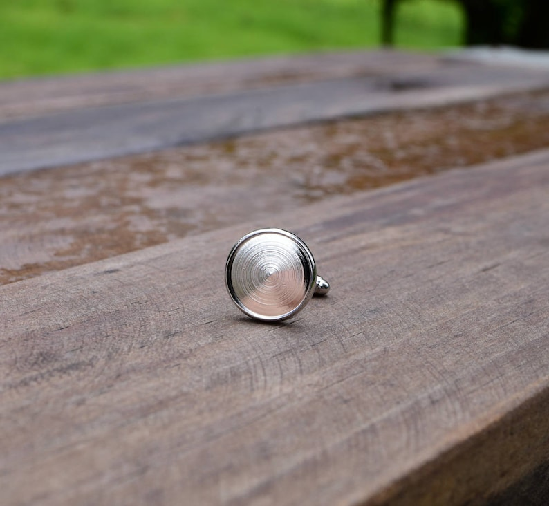 wedding silver plated personalized unique gift cool gifts for men groomsmen Groom/'s cuff links Nebula Galaxy Cufflinks