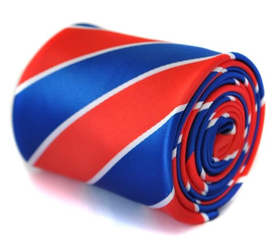 Frederick Thomas Green /& Royal Blue Mens Wedding Tie FT1700 RRP£19.99