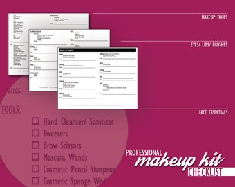 Freelance Makeup Artist Contracts Value Package Wedding Etsy