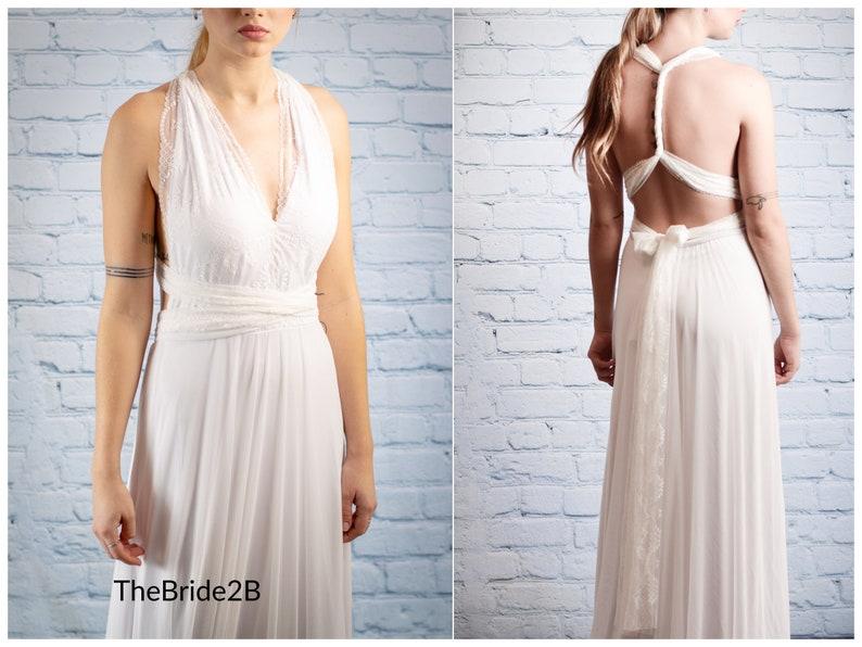 0317628cc7bd Infinity Chiffon maxi dress Greek style dresses Goddess | Etsy
