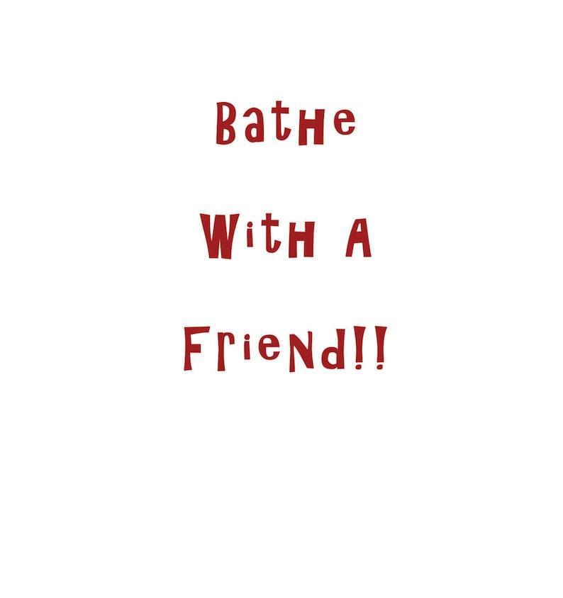 Gay Friendship Humor Card Vintage Photo Friendship Gay Humor    ****VMHR1004 Greeting Card