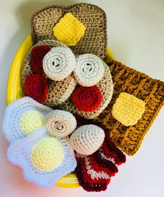 Crochet Breakfast Pdf Instand Download Pattern Only Etsy