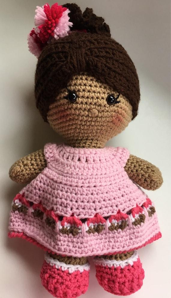 Weebee Crochet Cupcake Doll Birthday Girl Stuffed Doll Knit Etsy
