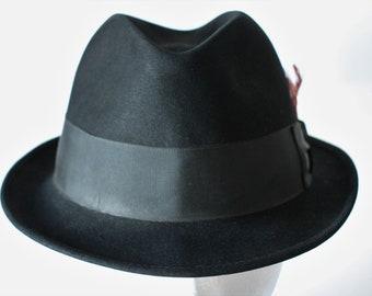 Knox Premier Black Fedora b6bdc5d3b451