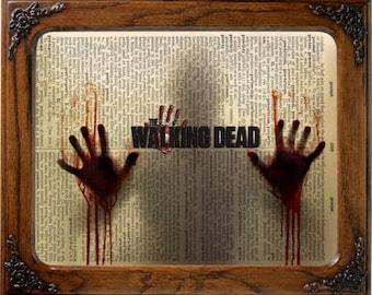 Walking Dead Art Etsy