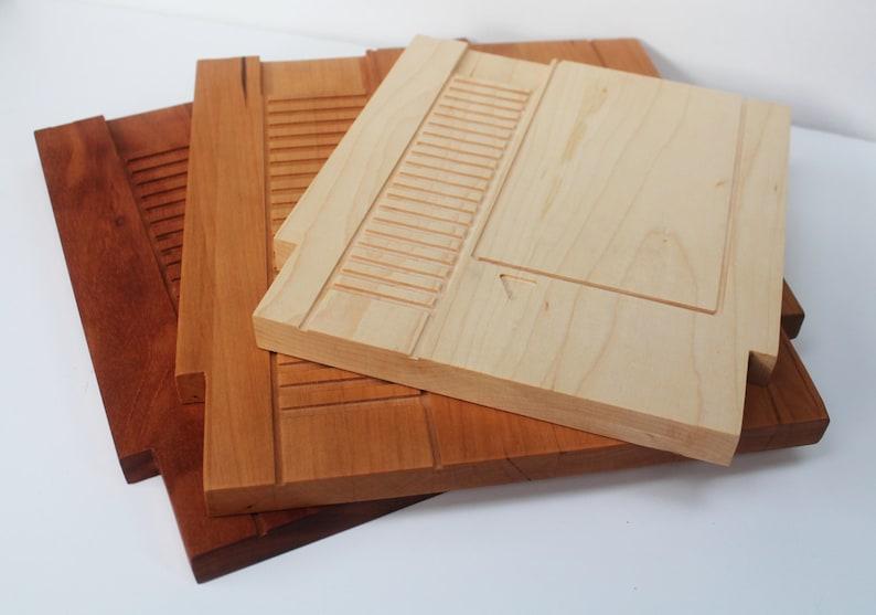 9x10 8 bit Video Game Cartridge Cutting Board image 0