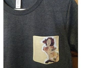 Egon Schiele Pocket Shirt