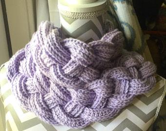 Braided Crochel Cowl - READY TO SHIP