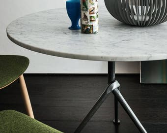 Luxury homemade Tops in  Italian Marble Carrara  100% original from Italian Artisans Design Custom made