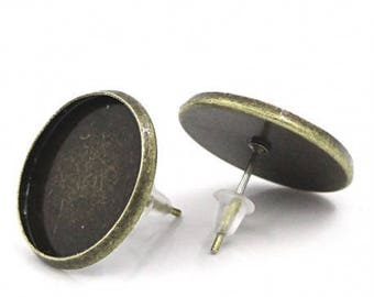 5 pairs of earring (pr 18mm) round tray