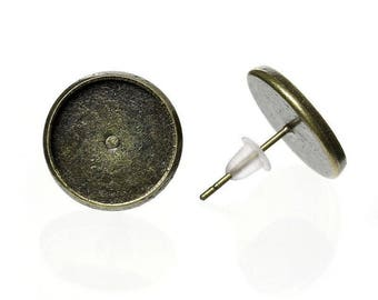 5 pairs of earring (pr 10mm) round tray