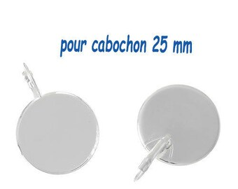 5 pairs of earring (pr 25mm) round tray