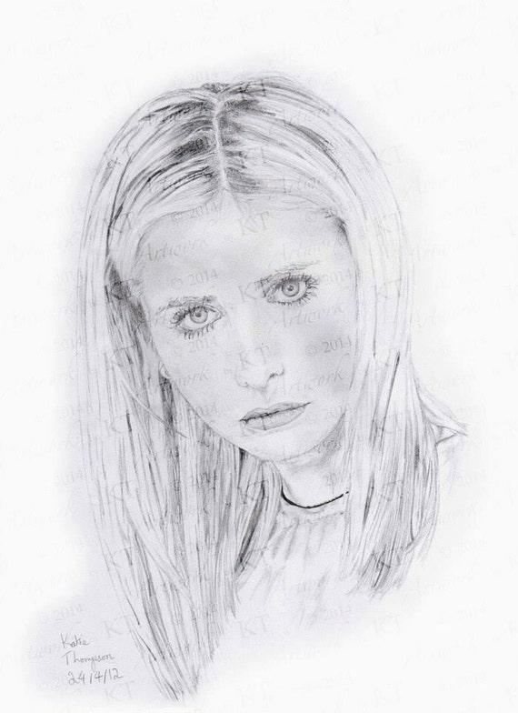 Sarah Michelle Gellar (Buffy) from Buffy the Vampire Slayer