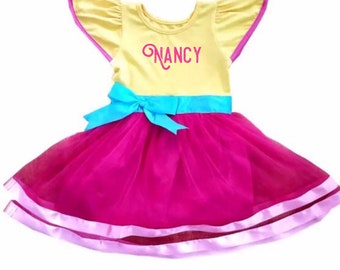 a59627566c7019 Disney halloween, disney princess costume, halloween costume, princess  costume, fancy nancy, fancy nancy costume, fancy nancy dress