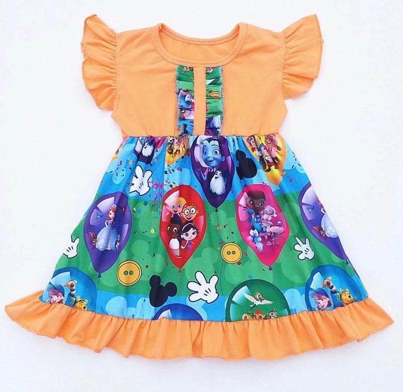 eca167922 Disney outfit disney dress disney jr dress vampirina dress   Etsy